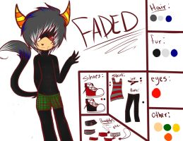Faded New Oc Ref... by Skittlz2564