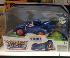Sonic Sega All-Stars Racing Radio control Sonic by sonicfan40