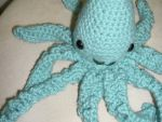 Crocheted Squid by elflover711