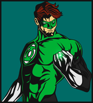 Green Lantern by DanEXP