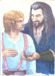 Thorin Billbo by Potter-gay