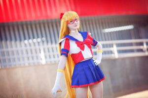 Pretty Guardian Sailor V by LoveSenshi