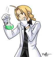 Edward in the Lab by ProSonic
