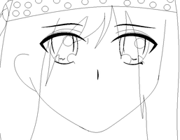 :wip: new anime style molly XD by deathsbell