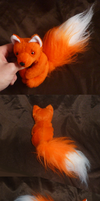 Fluff foxy: bright orange by goiku