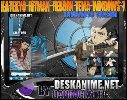 Yamamoto Takeshi Theme Windows 7 by Danrockster