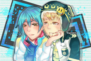 DRAMAtical Murder (AobaxNoiz) Commission by EarlCiel