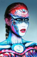 Body paint Art NK by NatashaKudashkina