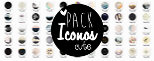 {PACK ICONOS CUTE} by Poqi