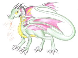 Thorn Horn by Winged-Dragoness