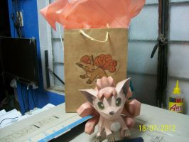 vulpix papercraft by rafex17
