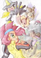 Pover up-Eeveelution by Pichu-Chan