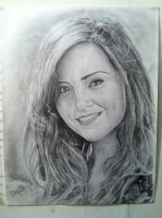 Clara Oswald pencil drawing by RshawArt