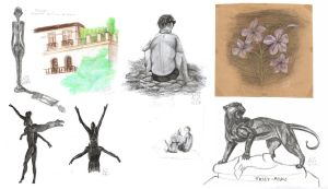 September 2012 - Life sketches from Nice by NicoleSt