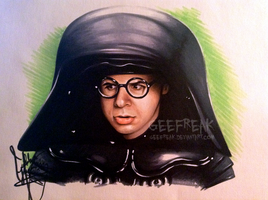 Rick Moranis - Dark Helmet by GeeFreak