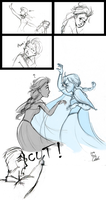 Disney-Frozen NG time (Oh~Anna~~ by ChiehChen