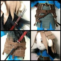 Anders Deluxe Plushie Details by stevoluvmunchkin