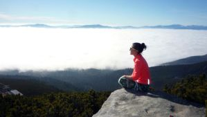 above the clouds by Tedinecka