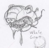 Animal Office - Whale Goat by HJTHX1138