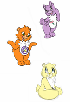 Care Bears OCs by ZAKDerefF