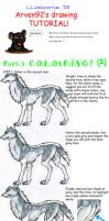 Drawing A Wolf Tutorial Part 3 by ARVEN92