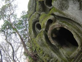 Bomarzo Monster Park 3 by Amor-Fati-Stock