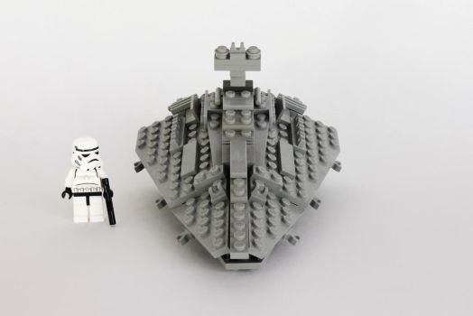 Custom Mini Star Destroyer by HougeSandwichArt