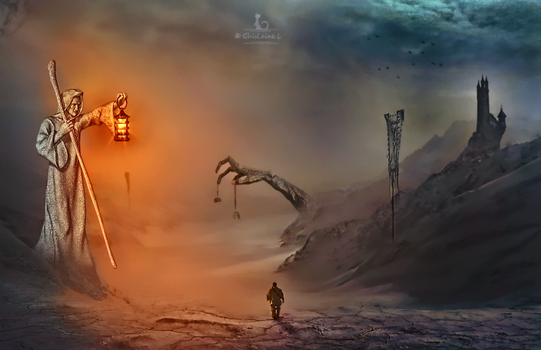 Toward the Unknown by Ghislaine-L