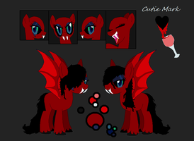 Vampiress Pony Adopt }CLOSED{ by DemonicCarnival