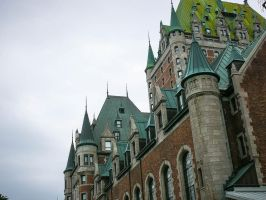 Chateau Frontenac by Breizhell