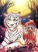 White Tiger by Eternal-S