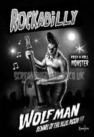 Rockabilly Wolfman by ScreamingDemons