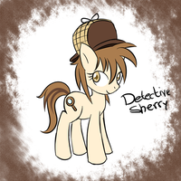 Detective Sherry Adoptable by ShadowTheHedgiFan