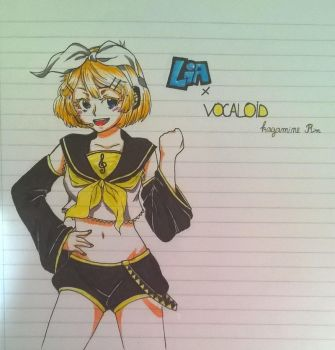 Lia x vocaloid crossover by Cami-chi