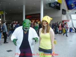 MCM - The Lizard and Pikachu by DreamBex