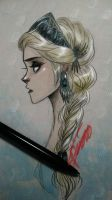 Snow Queen Elsa by oasiswinds