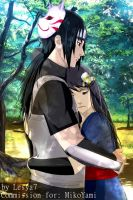 Commission: Yuki and Itachi by Lesya7
