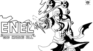 Enel: God Knows All by ninnin123