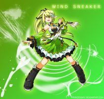 Wind Sneaker Wallpaper by Candy-Muffin