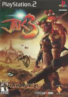 Jak 3 Game Cover Autographed by Tara Strong by xxXSketchBookXxx