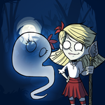 Don't Starve - Wendy and Abby by Undead-Niklos