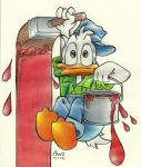 Donald Duck by Biamv