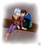 Although they are cold... by Takei-chan