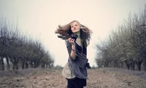 36. girl with zenith by loulight