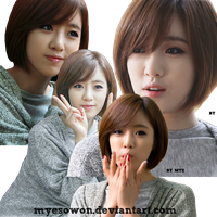 [PNG's Pack] Pack #2 - PNG Render Eun Jung by Mye by myesowon
