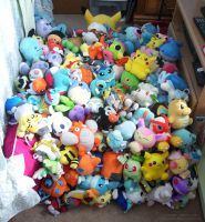 Huge Pokedoll Pile by Fishlover