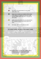 Manga Page Template Example by pencafe