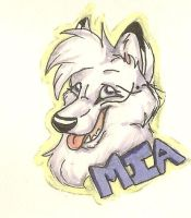 Mia's Badge by PjDaWolfie