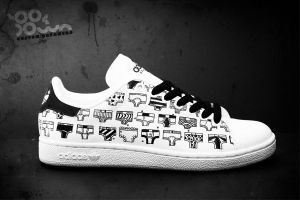 Custom Sneakers 'Y-front' by JohanNordstrom