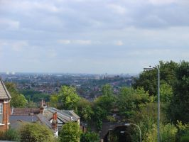 Muswell Hill view by LunaticDesire